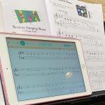 iPad の楽譜